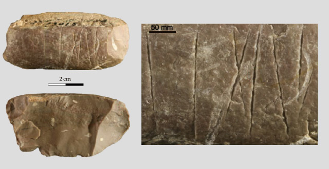Engraved Stone Dating Back 30,000 Years Found in China