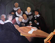 Yiull Damaso: The Anatomy Lesson of Dr Nicolaes Tulp (2010)
