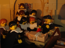 LEGO version by 'McBricker' (2007)