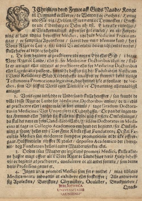Christian 5's forordning, side 2