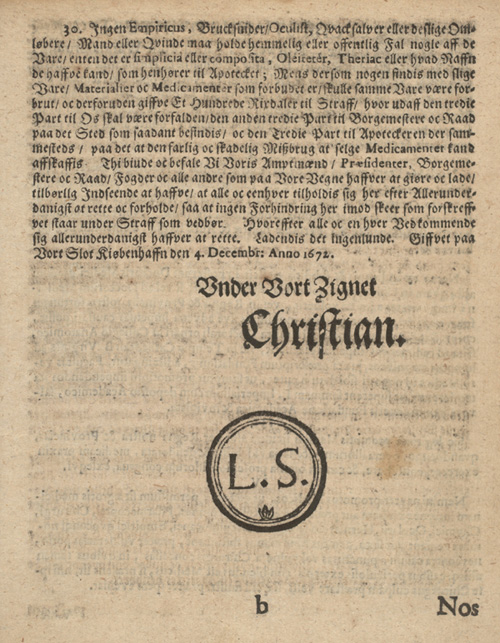 Christian 5's forordning, side 9