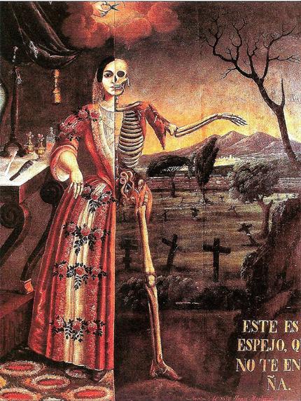 Tomás Mondragón's Alegoría de la Muerte